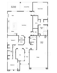 hillary floor plan at sanctuary at desert ridge passage collection