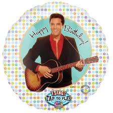 singing birthday delivery elvis singing balloon happy birthday elvis birthday gift singing