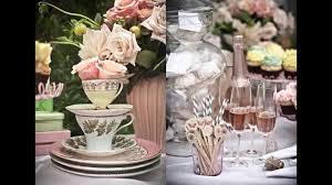 Ideas For Bridal Shower by Fascinating Tea Party Bridal Shower Ideas Youtube