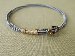 gold string bracelet images Guitar string bracelet stackable guitar string bangle guita JPG