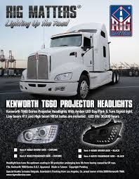 kenworth accessories catalog kenworth t660 projector headlights u2013 rig matters inc