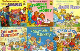 berenstien bears 6 berenstain books just for adults barnes noble