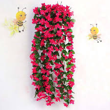hanging flowers best quality artificial flowers simulation hydrangea violet