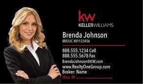 Keller Williams Business Cards Business Card 1