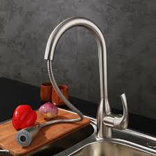 Kitchen Faucet Outlet Contemporary Kitchen Faucet Brushed Nickel Faucet Pull Out All