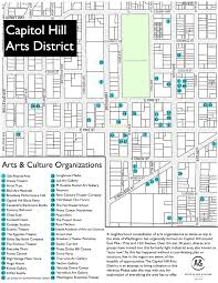 Seattle Districts Map by Arts U0026 Cultural Districts Arts Seattle Gov