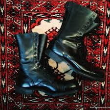 womens black combat boots size 9 womens boots cigarette daydreams vintage corcoran black leather