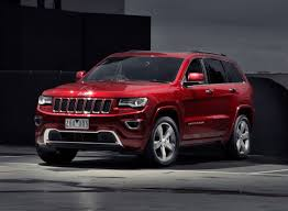 red jeep cherokee 2014 jeep grand cherokee overland deep cherry red