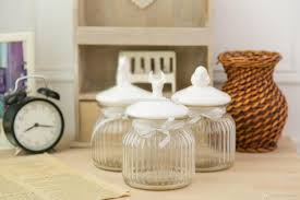 kitchen canisters glass 2017 small american country style glass jar with ceramic bird lid