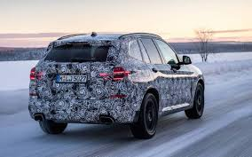 2018 bmw x3 u0027g01 u0027 undergoes extreme winter testing in sweden