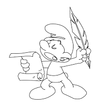 free smurf coloring pages printable pixelpictart com