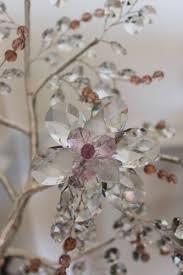 nuria grau swarovski tree sculpture murano glass unique