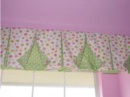 Pleated Valance How To Make Box Pleat Valances With Button Back Corners Window