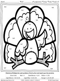 thanksgiving math coloring pages free bltidm