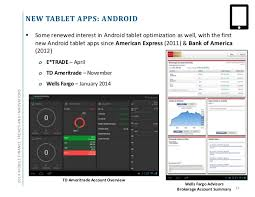 bank of america app for android tablets 2014 mobile finance trends and innovations