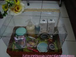 Satu Set Alat Make Up Wardah seserahan peningset our miracle moment