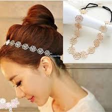 headbands for hair fashion women flower design hair bands headband rubber band