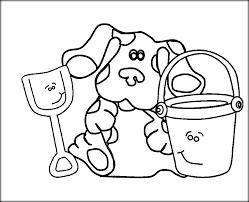 blues clues coloring pages preschoolers color zini