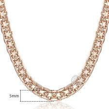 chain necklace styles images 585 rose gold chain necklace 3 styles blown biker jpg
