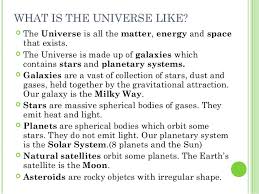 unit 3 4 universe solar system and earth