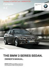 bmw 335d service manual bmw f30 3 series owners manual for pdf