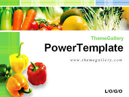 Fresh Vegetables Food Ppt Template Download Powerpoint Templates Ppt Powerpoint