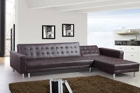 canapé convertible marron marron canapés d angle salon salle à manger