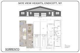 Sorrento Floor Plan Living Facility Floor Plans Vestal U0026 Endicott Ny Skye View Heights