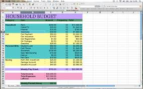 How To A Household Budget Spreadsheet Excel Spreadsheet For Budget Household Nbd