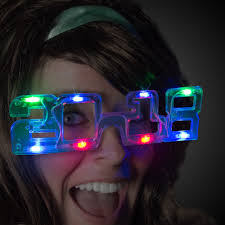led new years 2018 led eyeglasses new year s holidays events