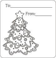 christmas gift tags color free printable gift tags kids