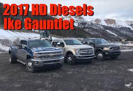 Ford 3500 Diesel Truck - 2017 chevy hd vs ford super duty vs ram hd gold hitch awards