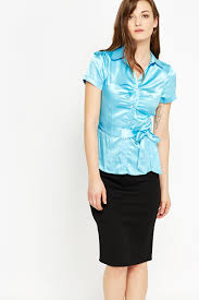 belted blouse aqua belted blouse just 5