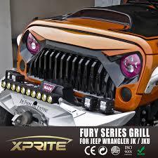 xprite gladiator vader front matte black grille grid grill for