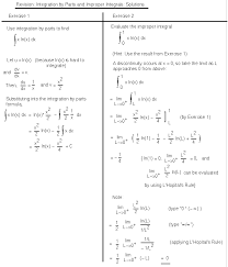 integration math100 revision exercises resources mathematics