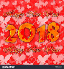 best new years cards decorative 2018 happy new year card stock illustration 701041243