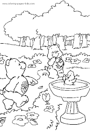 care bears coloring book printable care bears