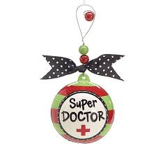 doctor gift doctor ornament career themed gifts