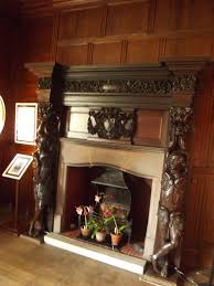 inside dyffryn house the oak room fireplace the interi u2026 flickr