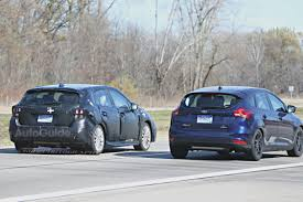 subaru impreza hatchback 2017 2017 subaru impreza hatchback and sedan spied testing autoguide