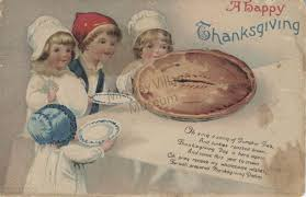 vintage thanksgiving postcards postcards midway village museum collections