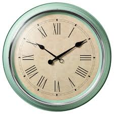 skovel wall clock green wall clocks clocks and walls