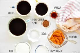 slow cooker pumpkin spice latte the chic site