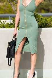 olive green dress windsor store amber nicole fashion