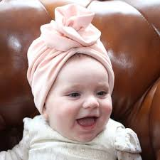 pink baby wrap newborn turban bow turban turban hat