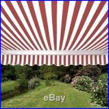 Red And White Striped Awning Patio Awnings Canopies And Tents Sunshade