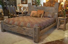 Western Bed Frames Charming Rustic King Size Bed Frame Editeestrela Design