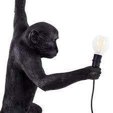 seletti monkey lamp black hanging jane richards interiors