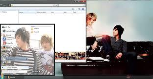 theme download for my pc yunjae cp windows 7 theme download my kpop pc