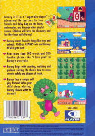 Real Time Video Stats Barney by Barney U0027s Hide And Seek Box Shot For Genesis Gamefaqs